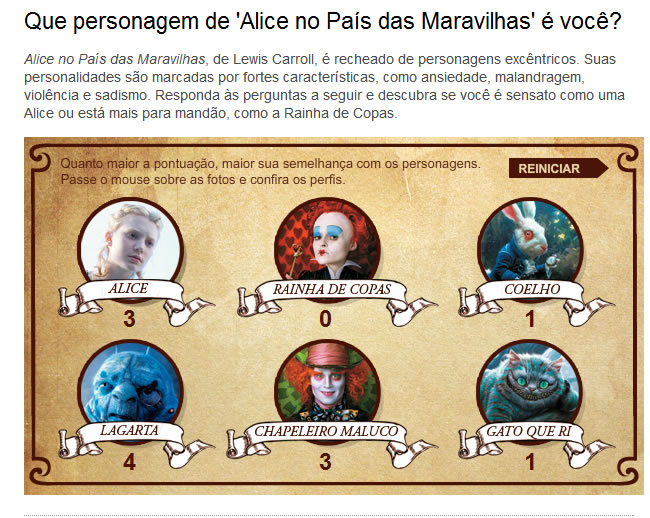 Viagens Espelho De Alice 40